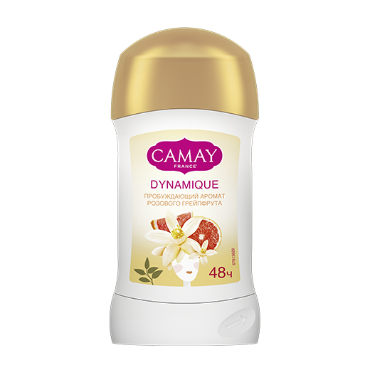ДЕЗОДОРАНТ СТИК CAMAY GRAPEFRUIT DYNAMIC
