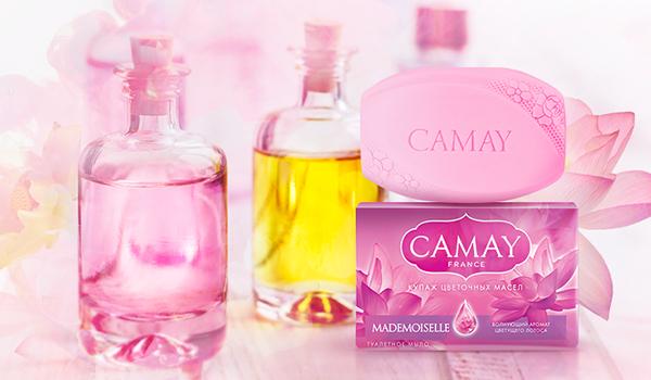 Из чего делается мыло Camay